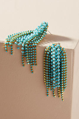 Anthropologie Fireworks Drop Earrings hRyClCikhV