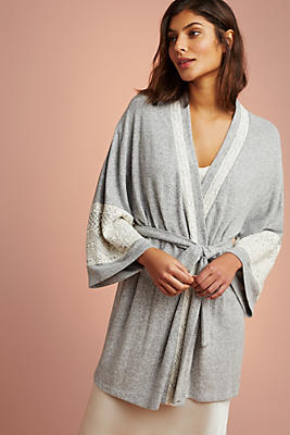 Slide View: 1: Flora Nikrooz Brushed Fleece Robe