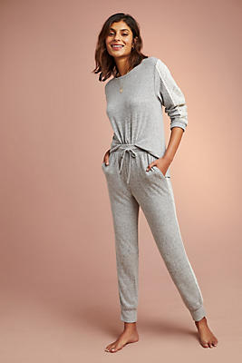 Slide View: 1: Flora Nikrooz Brushed Fleece Sleep Pants