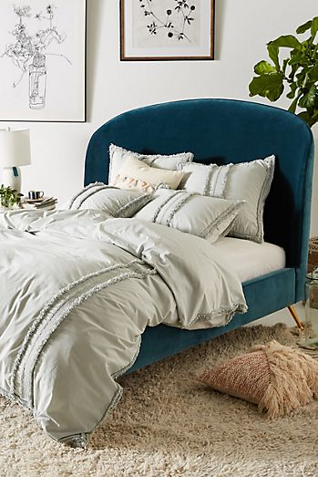 bedding sonoma percale bed tropical embroidery leaf thread cane products scroll count item c to green previous cotton williams