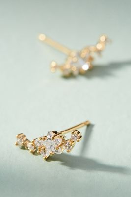 Stardust Climber Earrings  -    GOLD