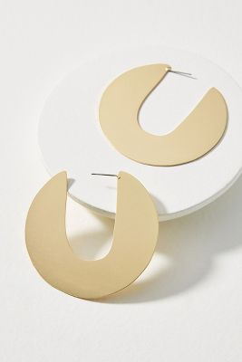 Pia Hoop Earrings  -    GOLD