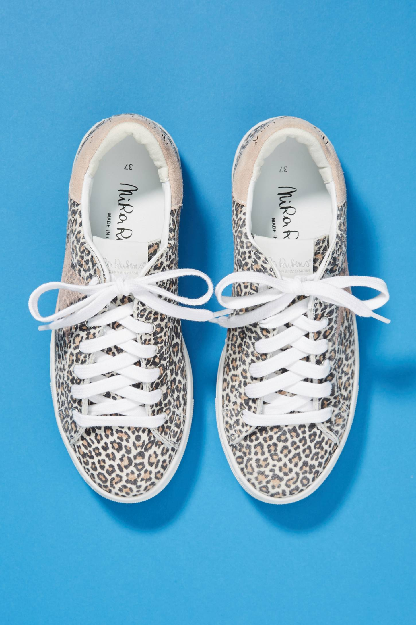 Leopard Star Sneakers | Anthropologie