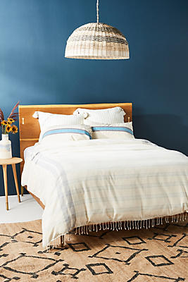 Slide View: 1: Woven Eden Duvet Cover