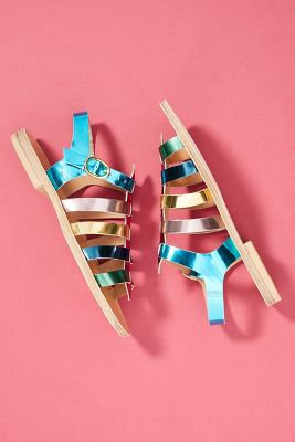 Morena Gabrielli Classic Gladiator Sandals by Anthropologie