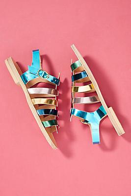 Morena Gabrielli Classic Gladiator Sandals