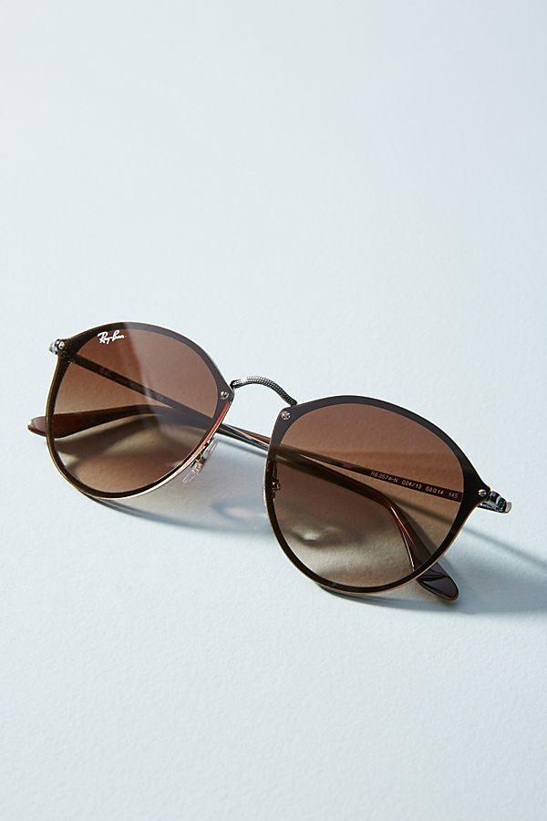 Ray-Ban Blaze Round Sunglasses   Anthropologie 616d503d4a
