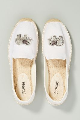 Soludos Elephant Smoking Slipper Espadrilles by Soludos
