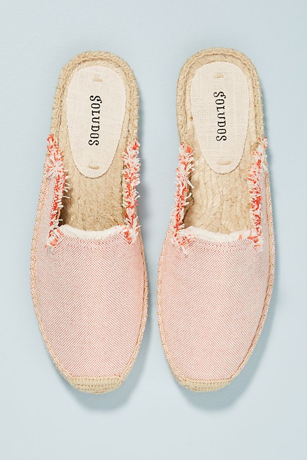 Soludos Frayed Slip-On Espadrilles | Anthropologie