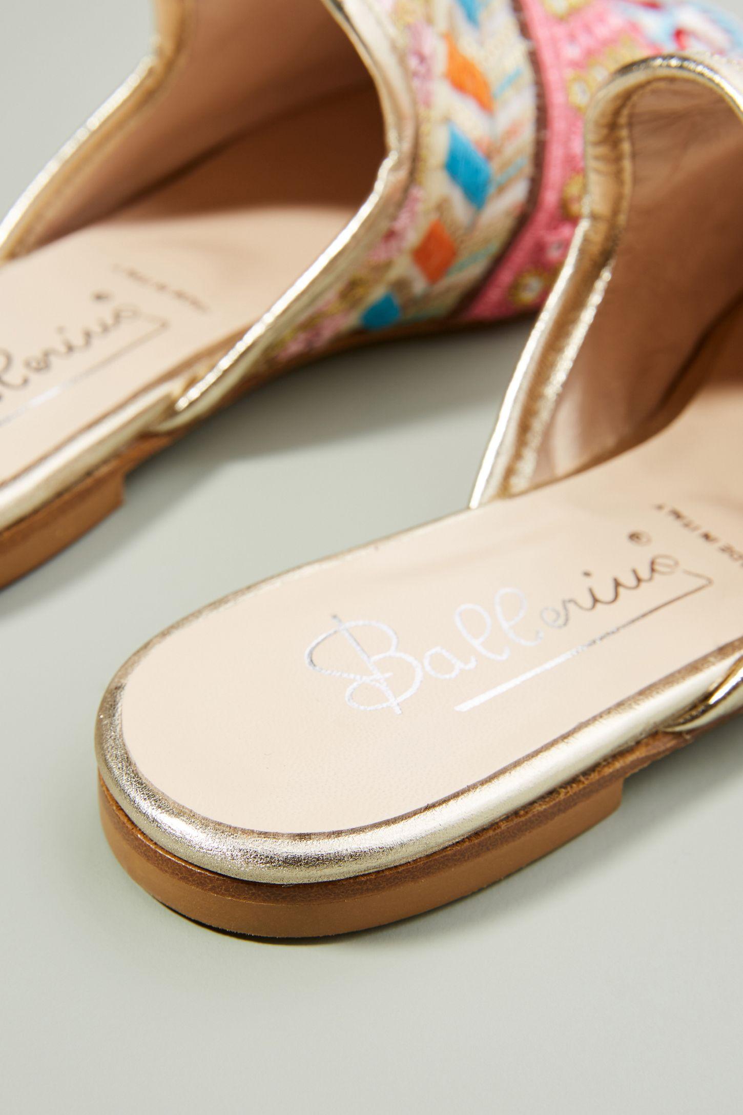 pick a best cheap price amazon online Ballerina Tapestry Slides QLLl9Epbf