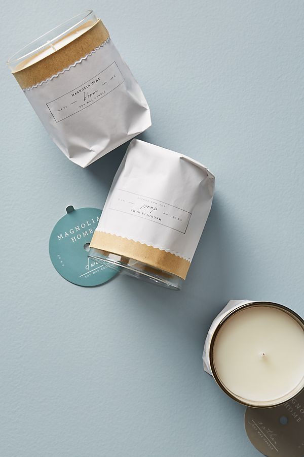 Slide View: 2: Magnolia Home Kraft Candle