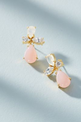 Kanupriya   Liana Drop Earrings  -    PINK