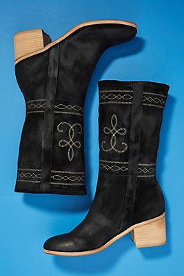 Silent D Western Midi Boots