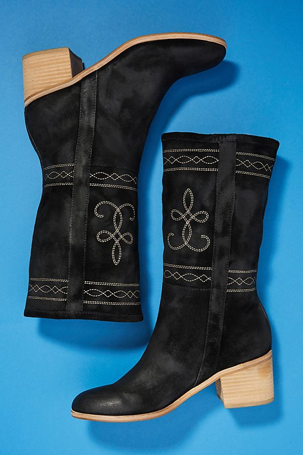 Silent D Western Midi Boots outlet cheap sale outlet shopping online cheap price 1NJG3xxp
