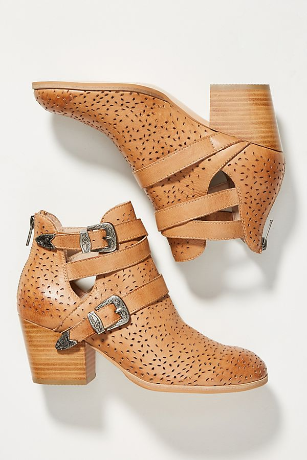 Silent D Shoal Buckle Booties | Anthropologie