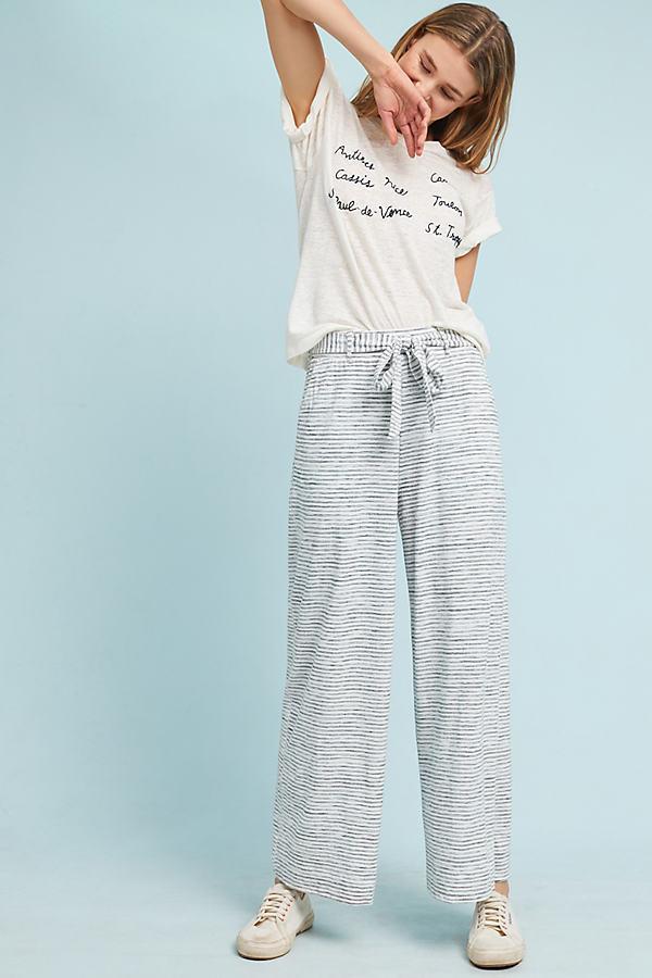 Coronado Striped Trousers - Grey, Size S