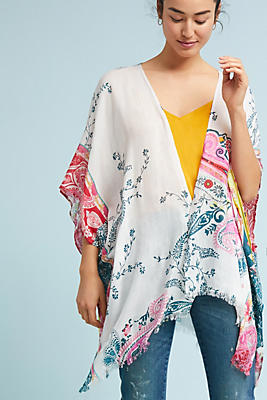 Slide View: 1: Clarabelle Floral Kimono