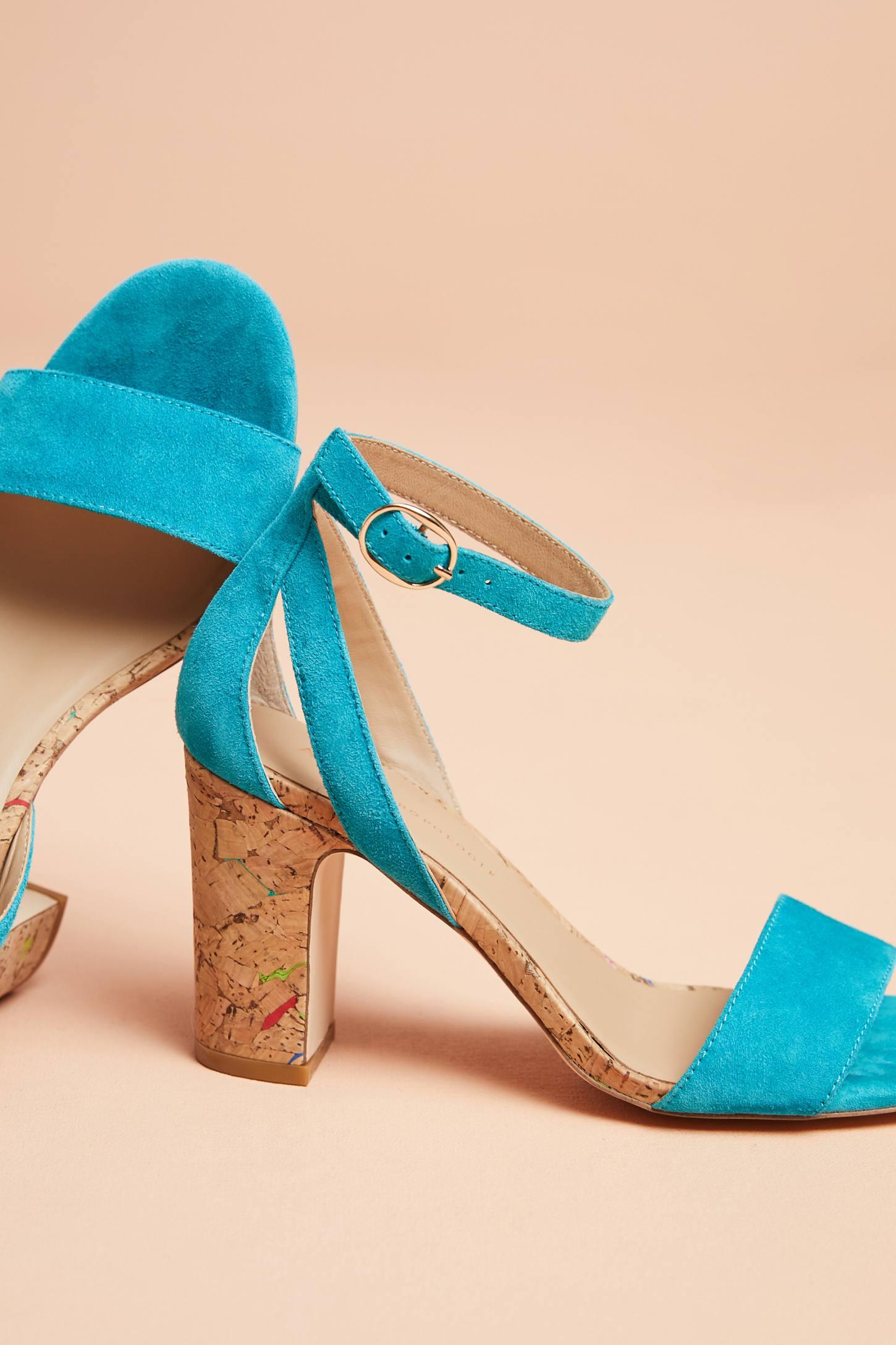 Anthropologie Femme Cork Heels