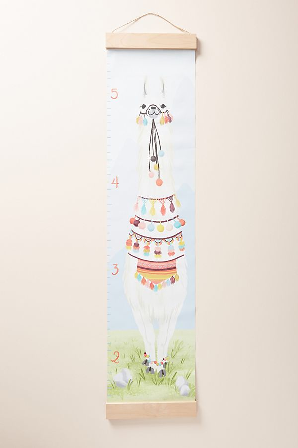 Slide View: 1: Llama Growth Chart