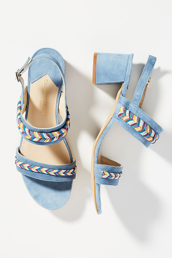 Carmen Salas Palma Rope Heeled Sandals low shipping cheap online 0djM3w