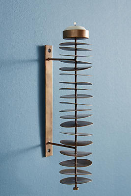 Slide View: 2: Discette Candle Holder Sconce