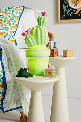 Slide View: 1: Potted Succulent Night Light