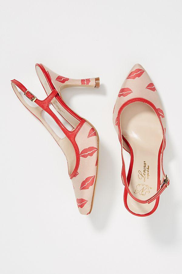 Slide View: 1: Lenora Brenda Slingback Heels