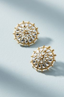 Mumbai Post Earrings by Blossom Box