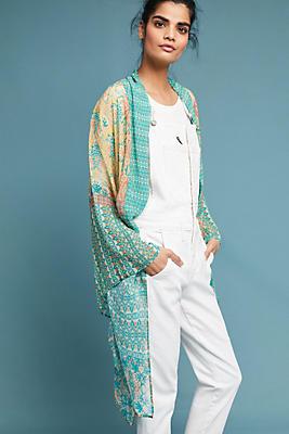 Slide View: 1: Matilda Floral Kimono