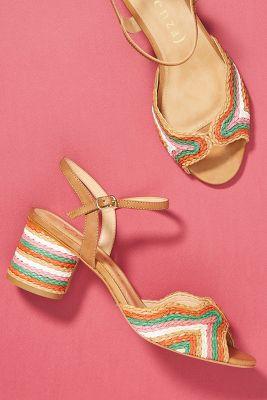 Vicenza   Vicenza Peep Toe Heeled Sandals  -    ASSORTED