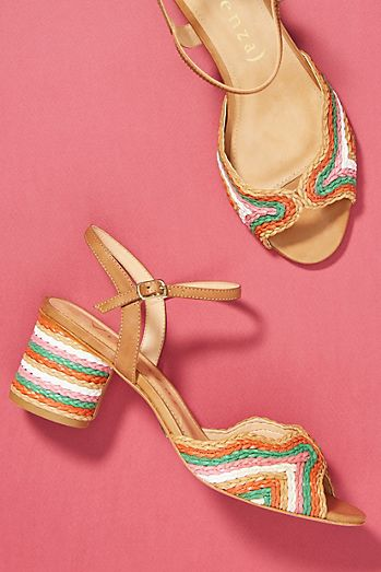 Vicenza Peep Toe Heeled Sandals