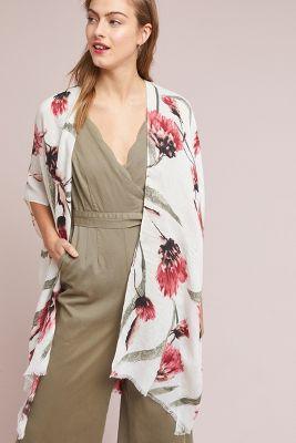Dream in Color Kimono  -    NEUTRAL MOTIF