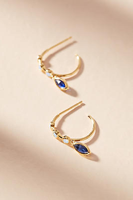Anthropologie Mclean Hugger Hoop Earrings 90qW4