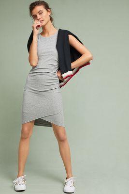 Saturday/Sunday   Norah Ruched Dress  -    DARK GREY