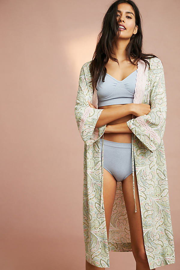 Floreat Paisley Robe - Assorted, Size Xs