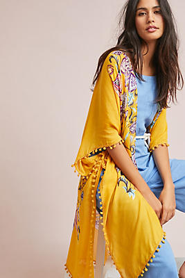 Slide View: 1: Joplin Floral Kimono