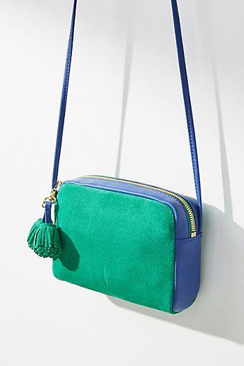 Pom Pom Crossbody Bag