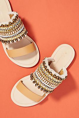 Anthropologie Bali Slide Sandals