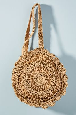 Babette Crocheted Circle Bag by Monserat De Lucca