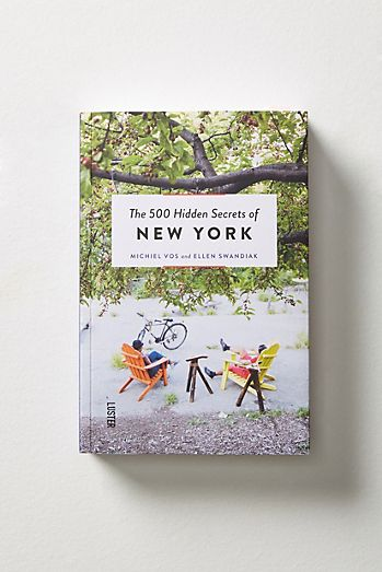 Books coffee table books cookbooks anthropologie the 500 hidden secrets of new york solutioingenieria Image collections