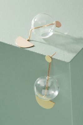 Glassy Drop Earrings by Anthropologie