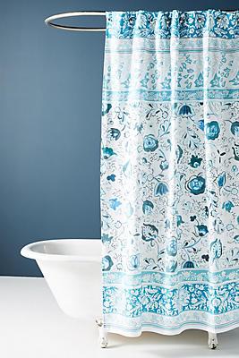 Slide View: 1: Bennet Shower Curtain
