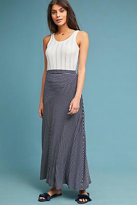 Slide View: 1: Lonnie Striped Skirt