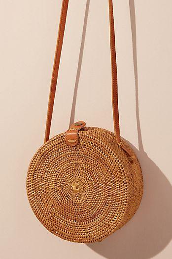 Lilian Woven Crossbody Bag