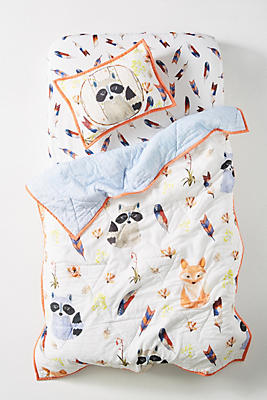 Slide View: 1: River Luna Woodland Kids Quilt