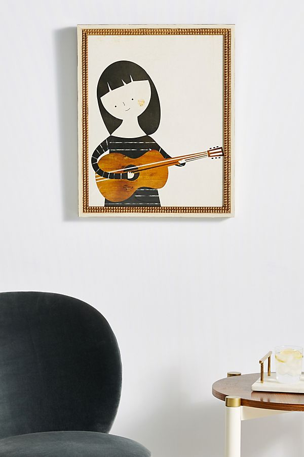 Slide View: 1: Musica Wall Art