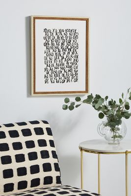 XOXO Wall Art Anthropologie
