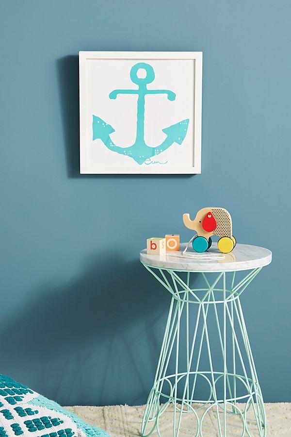 Slide View: 1: Anchor Wall Art