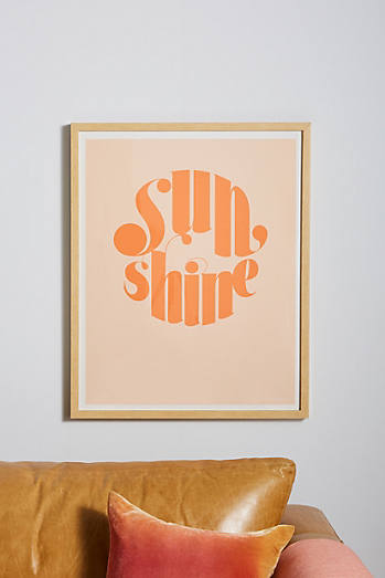 Sunshine wall art