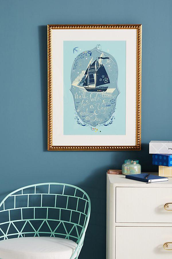 Slide View: 1: Sail Away Wall Art